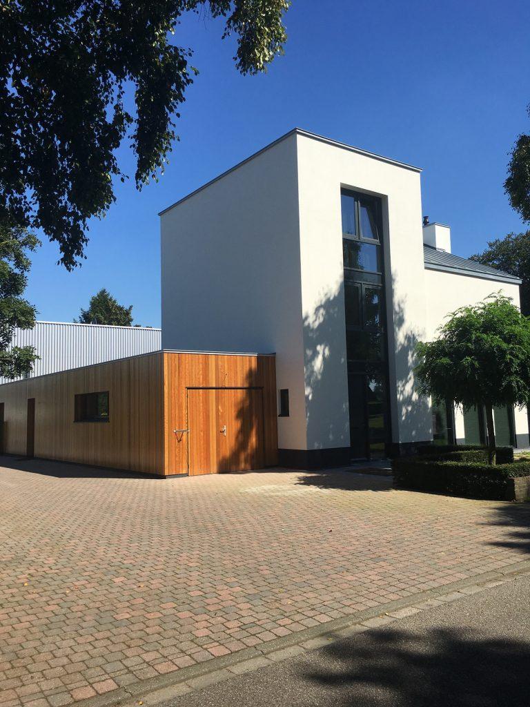 Bouwbedrijf Sleenhoff woonhuis Wijchen vooraanzicht